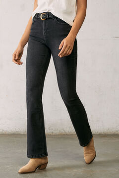 Springfield Boot cut sustainable jeans black