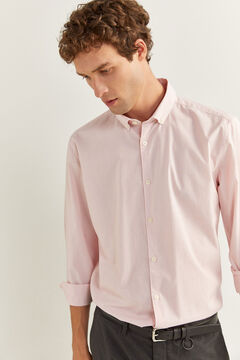 Springfield MICRO STRIPED SHIRT red