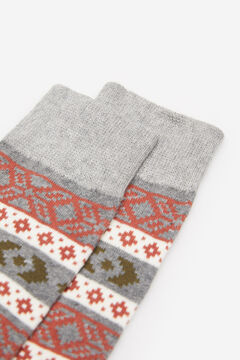 Springfield COLOURED JACQUARD SOCKS gray