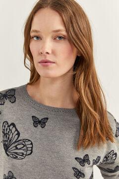 Springfield Butterflies Jumper gray