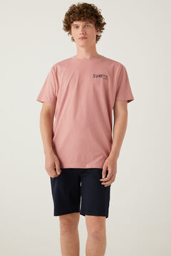 Springfield Surf T-shirt pink