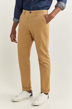 Springfield REGULAR FIT CHINOS stone