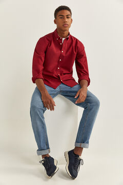 Springfield OXFORD SHIRT deep red