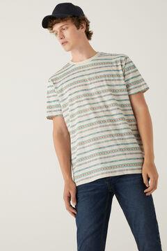 Springfield Ethnic T-shirt natural