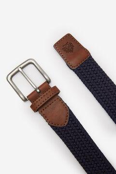 Springfield Woven belt bluish