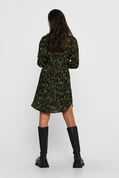 Springfield Printed short dress noir