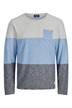 Springfield Printed pocket jumper  bluish