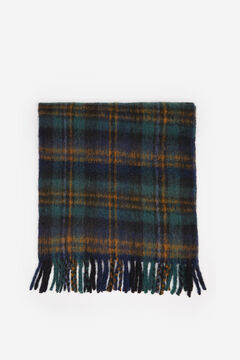 Springfield Checked Scarf oil