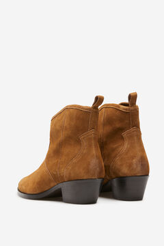 Springfield Split leather cowboy ankle boot 36