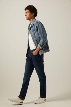 Springfield Dark wash slim fit jeans mallow
