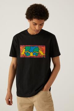 Springfield T-shirt Keith Haring preto