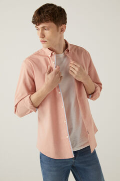 Springfield Pinpoint shirt red