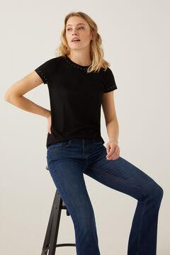Springfield T-shirt clous positionnés noir