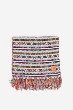 Springfield MULTICOLOURED JACQUARD SCARF gray