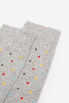 Springfield MULTICOLOURED POLKA-DOT SOCKS gray