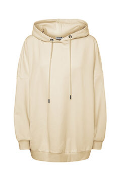 Springfield Oversize hooded sweatshirt white