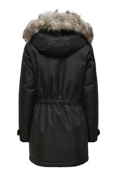 Springfield Parka with fur hood noir
