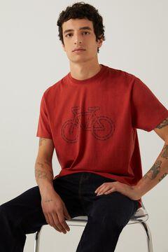 Springfield Bike t-shirt bordeaux