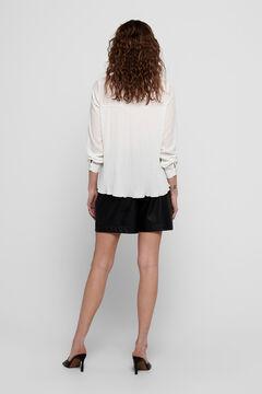 Springfield Ruffled blouse white