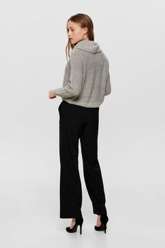 Springfield Polo neck jumper gray