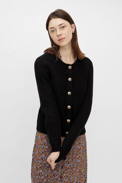 Springfield Knit cardigan black