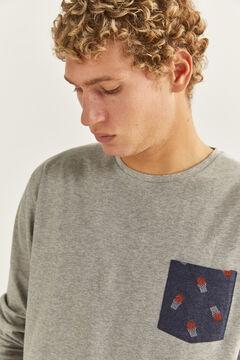 Springfield Basketball print pyjamas blue