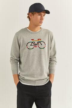 Springfield Jersey bici plomo mezcla