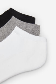 Springfield PACK OF 3 PAIRS OF TERRY TOWELLING SOCKS grey