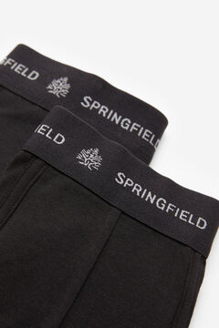 Springfield 2-pack essential briefs black