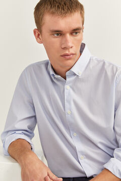 Springfield MICRO STRIPED SHIRT white