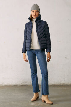 Springfield Reconsider quilted jacket blue