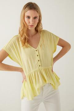 Springfield Peplum blouse  banana