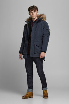 Springfield Multi-pocket parka navy