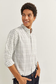 Checked shirt and Slim jeans set