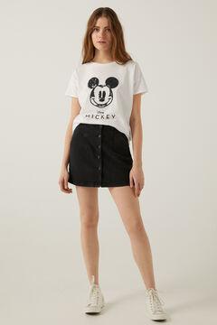 """Conjunto camiseta """"Mickey"""" y falda vaquera"""