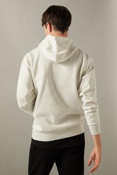 Conjunto de camisola com padrão de bicicleta e calças de chino