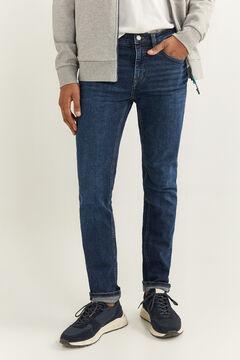 Denim shirt set and skinny jeans set