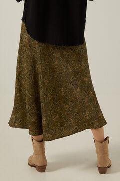 Jacket and midi skirt set
