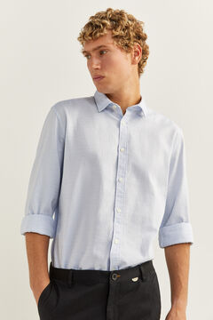 Textured shirt and chinos set