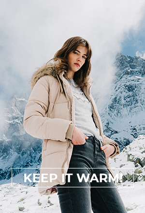 KEEP IT WARM! WOMAN