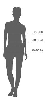 Guía de talllas Mujer
