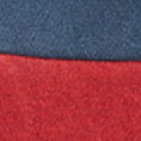 Springfield SWEAT-SHIRT CAPUCHE BLOCK rouge royal