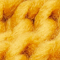 Springfield Cable Knit Scarf ocher